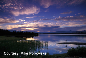 West Yellowstone Evening1