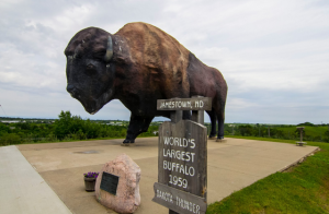World's Largest Buffalo  Jamestown