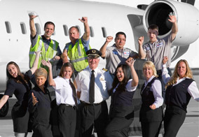 SkyWest Employees Group Shot
