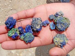 Elko Mining Azurite