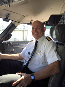 First Officer Joe Myers