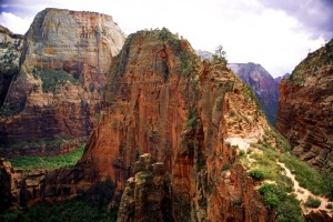 Zion-Angels-Landing-slide