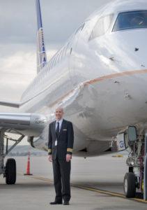 Captain Morgan Simmons, E175 Fleet Training Manager