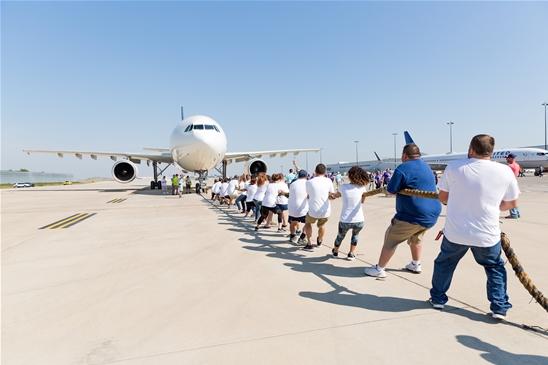 ORD plane pull 4