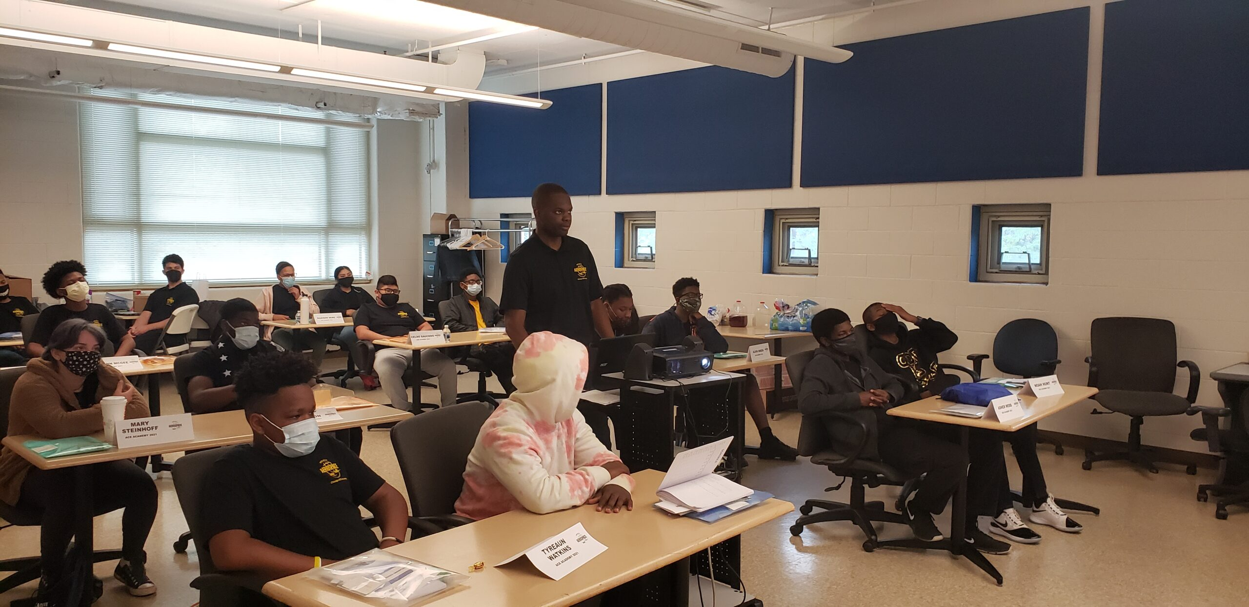 Chicago ACE academy classroom in 2021.
